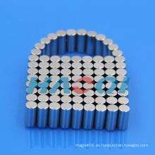 Cilindro cilíndrico axial Fuerte imán neo