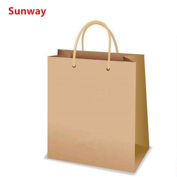 Beg Shopping Kraft Asli