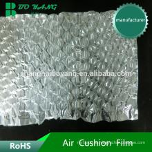 Material de polietileno de baja densidad de aire envasado de alimentos comestibles amortiguación protectora de película