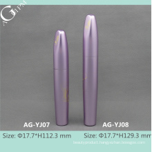 AG-YJ0708 AGPM Cosmetic Packaging Mascara Empty Aluminum Tubes