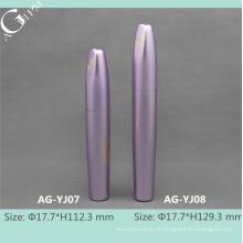 Tubos de alumínio vazia do AG-YJ0708 do AGPM embalagens de cosméticos rímel