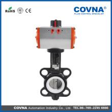 Medios de agua y estándar Accionador eléctrico estándar o no estándar para la válvula de mariposa