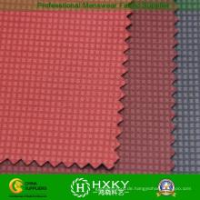 Überprüft Embossing Polyester Compound Fabric für Jacke