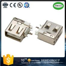 Plattenmontage Wasserdichte Steckverbinderklemme Mikro USB-Anschluss USB-Anschluss (FBELE)