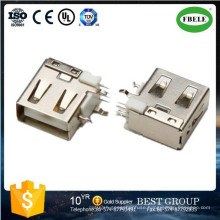 Panel Mount Waterproof Connector Terminal Micro USB Connector USB Connector (FBELE)