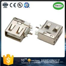Montagem em Painel Conector Impermeável Terminal Micro Conector USB Conector USB (FBELE)
