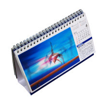 2016 Custom Design 3D Lenticular Desk Calendar Printing