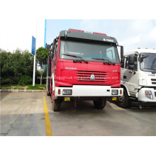 HOWO water tank forest fire truck price