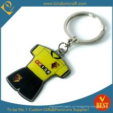 Custom Branding Promoção metal impresso chaveiro (KD-0711)