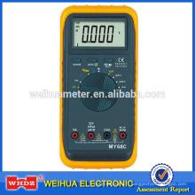 Multimètre MY68C CE haute précision avec température de fréquence