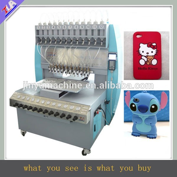 low price silicone phone case making machine