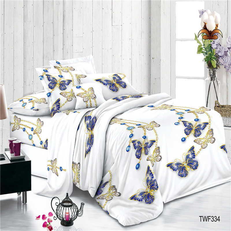 Digital Printed Polyester Plain Voile Sheets