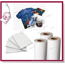 Jet d'encre pour le Mug 100GSM Dye Sublimation papier en rouleau