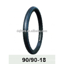 natural rubber and butyl motorcycle inner tube 90/90-18