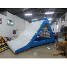 Blue Inflatable Water Slide Small And Durable For Pool / Lake