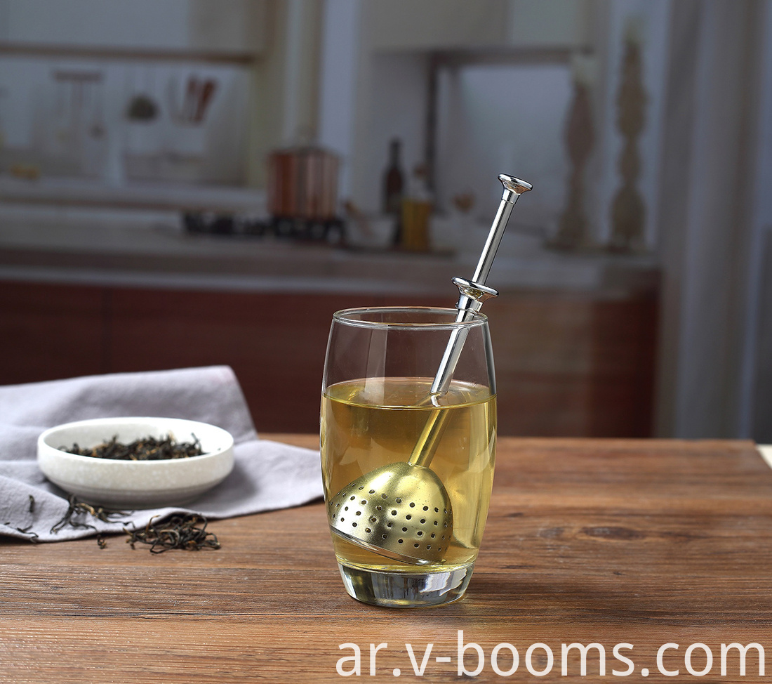 Long Handle Stainless Steel Tea Infuser