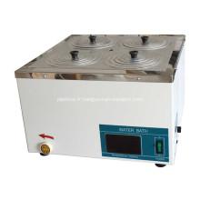 Nouveau bain d'eau thermostatique numérique 4 trous de laboratoire