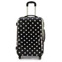 Valise de valise trolley Trolly de voyage noir PC beauté (HX-W3629)