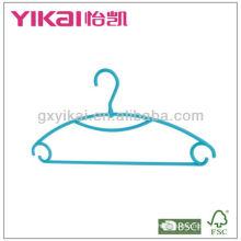 Dark Turquoise Multifuncional PP Plastic Clothes Hanger
