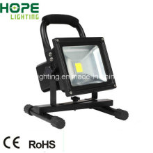 2015 New Style Outdoor IP65 30W LED Flood Light with Rechargeable