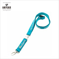 Custom High Quality 3D Silicone Printed Glow Lanyard