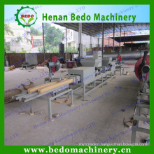 Hot selling compressed sawdust wood block making machine/wood pallet log makig machine with the reasonable price