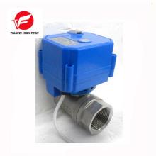 5v 12v 24v CWX-25S vanne d'eau à fermeture automatique