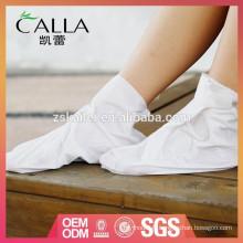 Chaussettes de blanchiment des pieds 2014