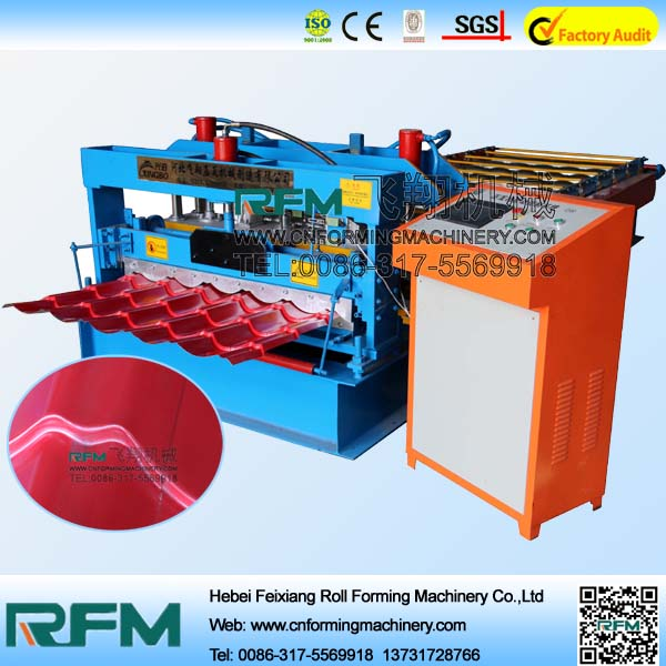 High Quality Glazed Tile Metal Roof Panel Machine