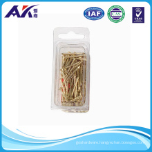 Brass Plated Semi-Round Nail Asoortment