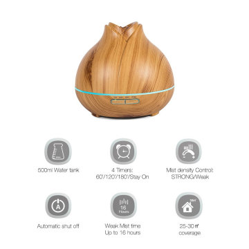 400ml Ultrasonic Aroma Essential Oil Diffuser