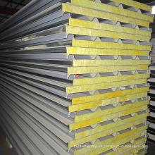 Panel sándwich de lana de vidrio de alta calidad y bajo costo para techo