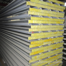 Low Cost High Quality Glass Wool Sandwich Panel for Roof