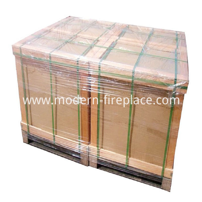 Wood Burning Fireplaces Zero Clearance Packaging