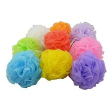 Colored nylon bath ball