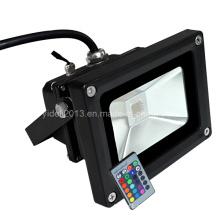 Preço barato alta potência RGB LED Flood luz lâmpada ao ar livre projetor