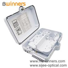 Ftth Pc Abs Professional Plc Splitter Fiber Optic Distribution Box Fiber Terminal Box