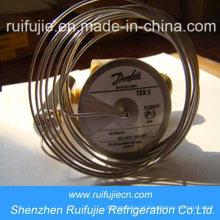 Válvulas de Expansão Termostática Danfoss R404A / R507 / R22 / R134A Tex5