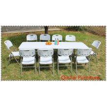 Table se pliante de 6ft dans les tables extérieures, tables se pliantes bon marché, table se pliante en plastique