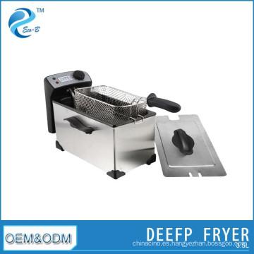Máquina de filtro de aceite de freidora eléctrica de 3,5 l