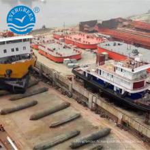 2.0mx 18m Airbag marin utilisé pour le bateau de ponton de sauvetage / bateau