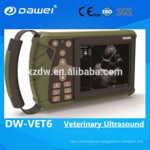 Nuevo escáner portátil del ultrasonido de 2017 veterinarios para el embarazo de las ovejas
