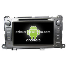 HOT! Voiture dvd pour Android System Toyota Sienna
