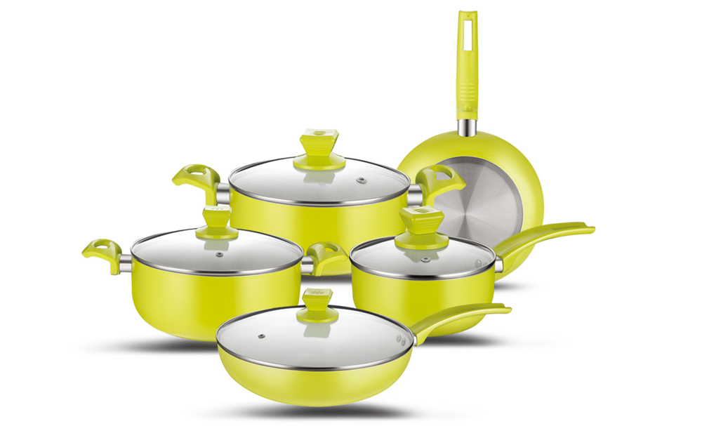 pressed cookware
