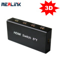 5 a 1 Conmutador HDMI / 5 conmutadores HDMI de puertos (YL0501)