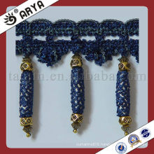 Curtain lace ,fabric trim tassel fringe,used for drapes,cushions,curtain and accessories,made in China
