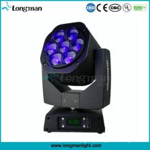 Acme principal movente do zumbido da luz da fase do diodo emissor de luz do olho da abelha de 105W RGBW mini