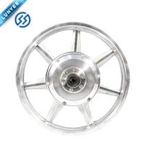 """Rueda eléctrica eléctrica de la rueda de la rueda del motor del cubo de la impulsión de la rueda delantera 14 """"tamaño del borde 36v 48v 250w"""