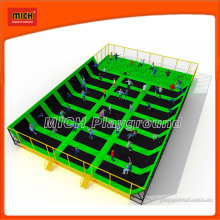 Bungee Mini Indoor Fitness Trampoline Manufacturer with Foam Pit