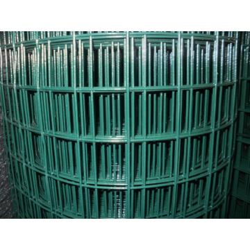 PVC bersalut Welded Wire Mesh Fencing